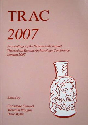 TRAC Proceedings 2007 cover
