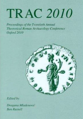 TRAC Proceedings 2010 cover