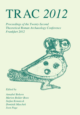 TRAC Proceedings 2012 cover
