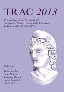 TRAC Proceedings 2013 cover